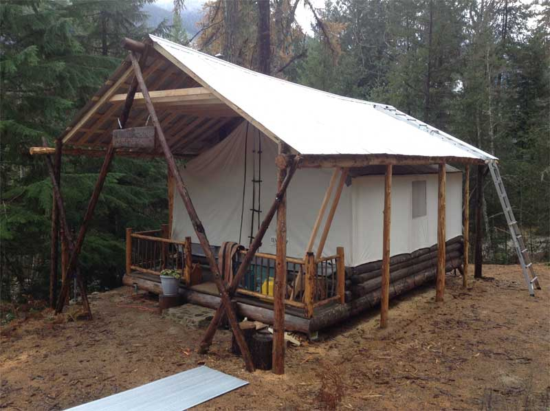 katya coad's yurt